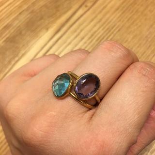 ティファニー(Tiffany & Co.)のたえ様 パープルアメジストリング&ティファニーサマセットリング (リング(指輪))