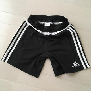 アディダス(adidas)の8月11日のみ。こあーちゃむ様専用】adidas ジュニア パンツ 【130】黒(パンツ/スパッツ)