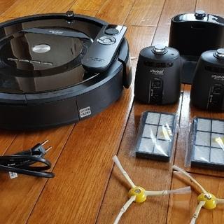 アイロボット(iRobot)のアイロボットルンバ885動作確認済み多少の擦れ有り2021年8月4日まで保障あり(掃除機)