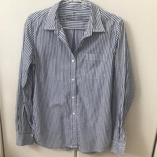 MUJI (無印良品) - 無印良品 ストライプシャツ