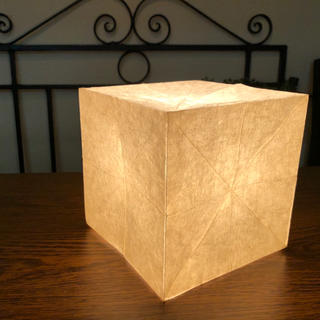 ムジルシリョウヒン(MUJI (無印良品))の無印良品 角型ライト・小(テーブルスタンド)