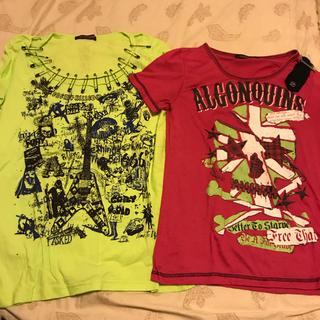 アルゴンキン(ALGONQUINS)のアルゴンキン Tシャツ 2枚セット(Tシャツ(半袖/袖なし))