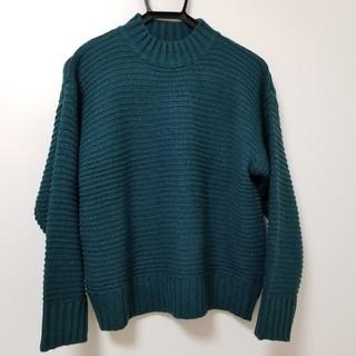 【お盆sale】GU♡ガータービッグクルーネックセーター