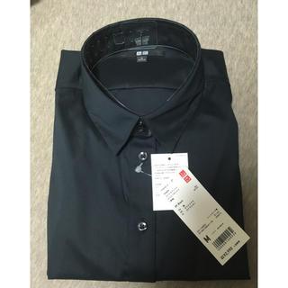 UNIQLO - ユニクロ 黒 シャツ 長袖