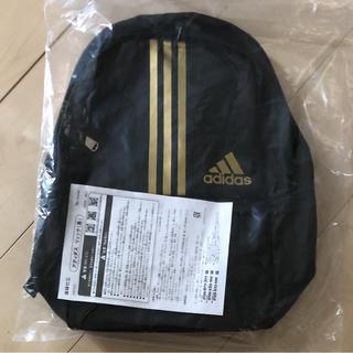 adidas - アディダス   リュックサック   ブラック(ゴールドライン)