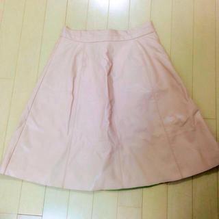マーキュリーデュオ(MERCURYDUO)のレザースカート(ミニスカート)