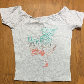 スライ(SLY)のSLYオフショルダー2way Tシャツ(Tシャツ(半袖/袖なし))