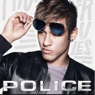 ポリス(POLICE)のPOLICE sunglasses サングラス ティアドロップ 黒 送料込み(サングラス/メガネ)