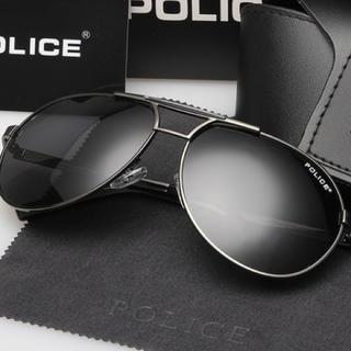 ポリス(POLICE)のサングラス POLICE 黒 ケースなし 送料込み ユニセックス(サングラス/メガネ)
