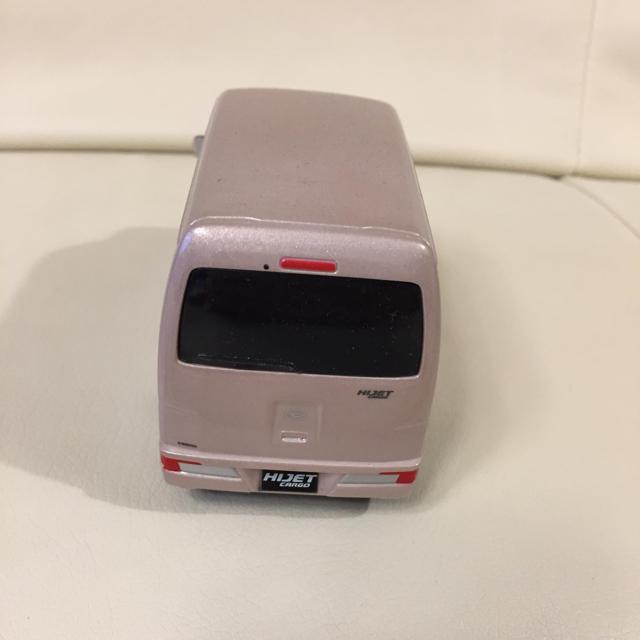 ダイハツ(ダイハツ)のハイジェット カーゴ 箱無し エンタメ/ホビーのおもちゃ/ぬいぐるみ(ミニカー)の商品写真