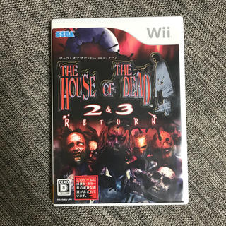 Wii - THE HOUSE OF THE DEAD wii ソフト