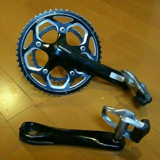 シマノ(SHIMANO)のシマノ ロードバイククランク&ペダル(パーツ)