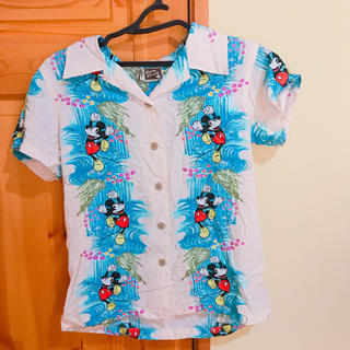 ディズニー(Disney)のミッキー アロハシャツ(シャツ/ブラウス(半袖/袖なし))
