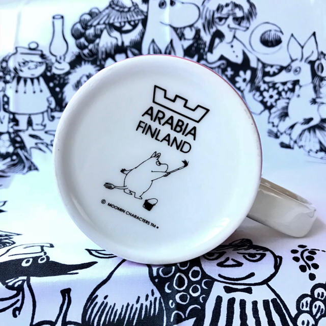 ARABIA(アラビア)の最終値下げ!廃盤 限定 アラビア ムーミン マグカップ インテリア/住まい/日用品のキッチン/食器(グラス/カップ)の商品写真