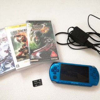 PlayStation Portable - PSP3000本体&ソフト3本セット