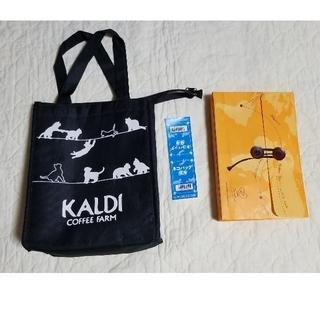 カルディ(KALDI)ののん様専用 カルディ ねこバッグ(茶)