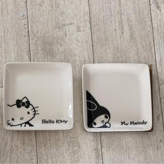 サンリオ(サンリオ)のキティ&マイメロ LAWSON粗品小皿(食器)