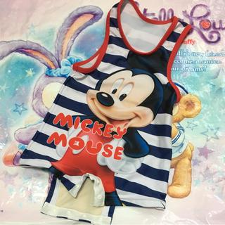 ディズニー(Disney)のディズニー ミッキー水着 80cm 90cm(水着)