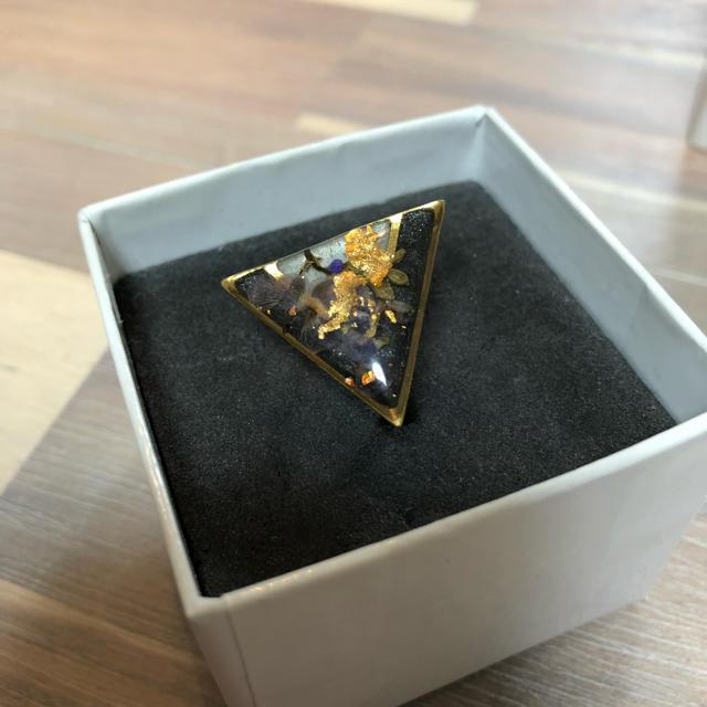 【美品】【一点物】mellowfukushima ゴールドリング ピンキーリング レディースのアクセサリー(リング(指輪))の商品写真