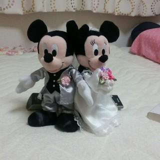 ディズニー(Disney)のミッキーミニー ウェディング人形(その他)