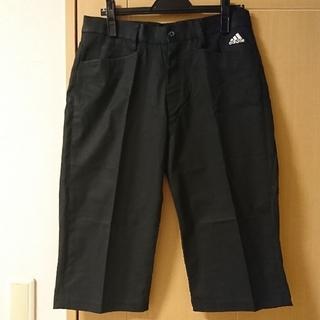 adidas - ★格安 adidas(アディダス) メンズ ゴルフウェア 七分丈パンツ 黒★
