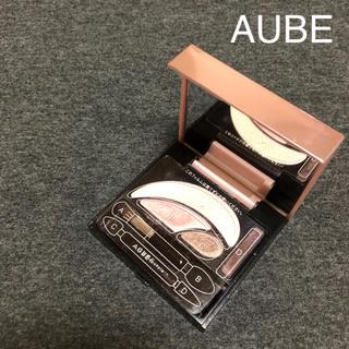 オーブ(AUBE)のAUBE オーブグチュール アイシャドウ ピンク504(アイシャドウ)