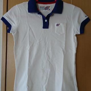 ポロラルフローレン(POLO RALPH LAUREN)の★美品!格安!PoloJeans(ポロジーンズ) 半そで ポロシャツ 白★(ポロシャツ)