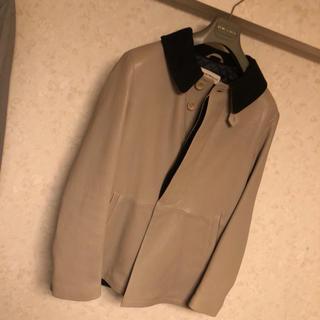エンポリオアルマーニ(Emporio Armani)のエンポリオアルマーニ レザージャケット(レザージャケット)