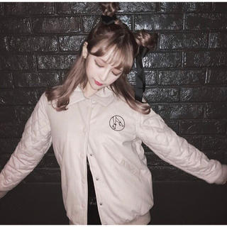 バブルス(Bubbles)のMelt the lady♡ 刺繍ジージャン black(Gジャン/デニムジャケット)