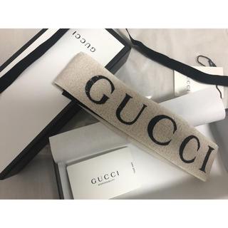382526a2db02e グッチ(Gucci)の江戸川コナン様専用 GUCCI ヘアバンド (ホワイトエラスティック