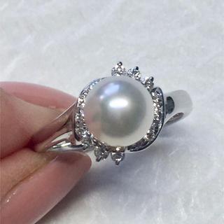 ポーラ(POLA)のPOLA パール ダイヤモンド リング(リング(指輪))