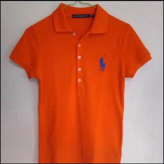 ポロラルフローレン(POLO RALPH LAUREN)のラルフローレンビッグポニー半袖ポロシャツSオレンジ(ポロシャツ)