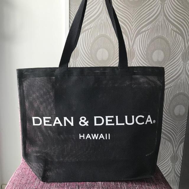 Dean Deluca ハワイ限定 ディーン デルーカ メッシュトートバッグ ブラックの通販 By Koala S Shop ディーンアンドデルーカならラクマ