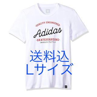 アディダス(adidas)の送料込 Lサイズ adidas skateboarding tshirt(Tシャツ/カットソー(半袖/袖なし))