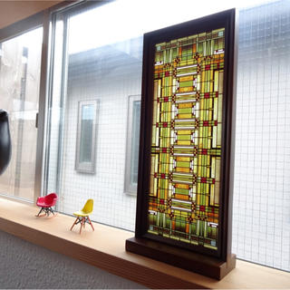 ACTUS - 【新品】フランクロイドライト  アートグラス ステンドグラス