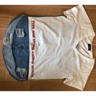 バックス(BACKS)のbacks変わりティー(Tシャツ(半袖/袖なし))