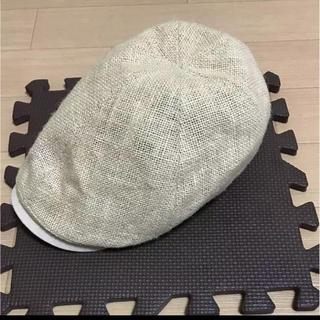麻のハンチング帽(ハンチング/ベレー帽)