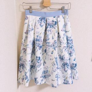 アベニールエトワール(Aveniretoile)の❁ アベニエールエトワール花柄スカート ❁(ひざ丈スカート)