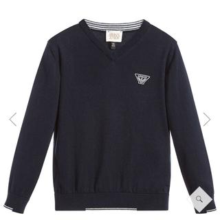 アルマーニ ジュニア(ARMANI JUNIOR)のmachoco様専用新品 アルマーニジュニア  14A セーター(Tシャツ/カットソー)