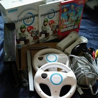 ウィー(Wii)のWii マリオカートセット(家庭用ゲーム本体)