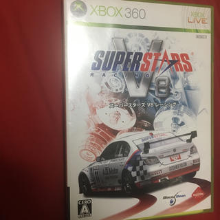 エックスボックス360(Xbox360)のスーパースターズV8レーシング(家庭用ゲームソフト)