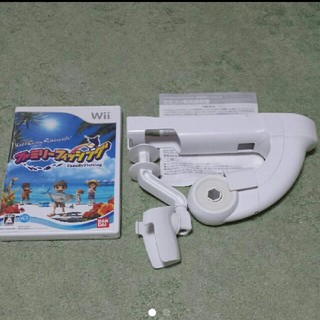 ウィー(Wii)のファミリーフィッシング サオコンセット  (家庭用ゲームソフト)