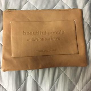 ビューティフルピープル(beautiful people)のクーポンで5415円!土日限定beautiful peopleレザークラッチ(クラッチバッグ)