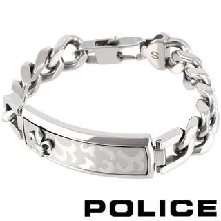 ポリス(POLICE)の【美品】POLICE ポリス EMPEROR ブレスレット (ブレスレット)