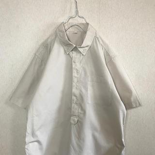 MUJI (無印良品) - 無印良品 半袖 プルオーバー シャツ