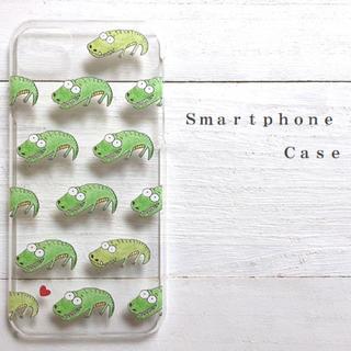 ワニ  スマホケース  iPhone7  iPhone6(スマホケース)