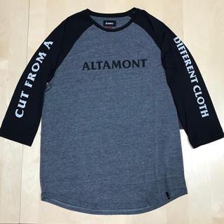 オルタモント(ALTAMONT)の七分袖 ロンT オルタモント ALTAMONT ラグラン 新品 送料込み(Tシャツ/カットソー(七分/長袖))