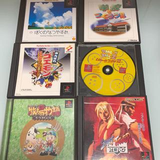 プレイステーション(PlayStation)のプレステソフト6個 中古(家庭用ゲームソフト)