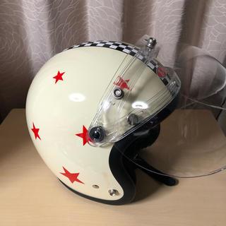 トイズマッコイ(TOYS McCOY)のMOTO BUCO ヘルメット ジョニーロッカー(シールド付き)(ヘルメット/シールド)