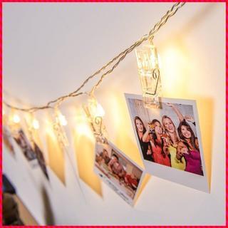 LED 写真 クリップ ライト DIY 飾り 2.2M